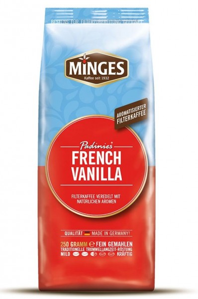 Minges Padinies French Vanilla Filterkaffee 250 g