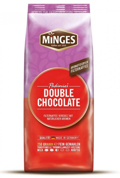 Minges Padinies Double Chocolate Filterkaffee 250 g