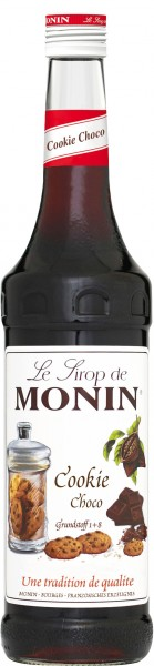 MONIN ® Sirup Cookie Choco 0,7 l