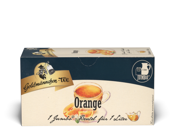 20 JUMBO-Beutel Orange Goldmännchen-TEE
