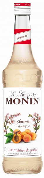 MONIN ® Sirup Amaretto 0,7 l