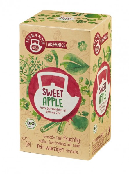 Teekanne ORGANICS Sweet Apple 20 Beutel