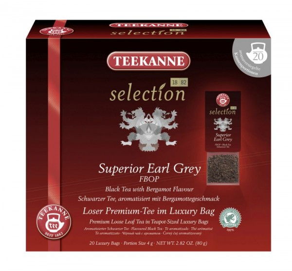 Teekanne Selection Superior Earl Grey FBOP 20 Kannenportionen
