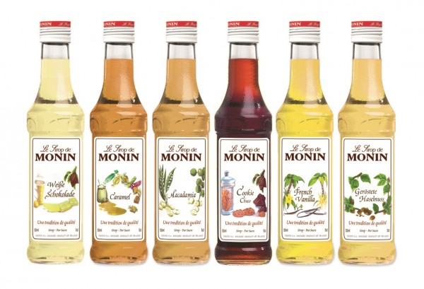MONIN ® Sirup Coffee-Trends 6 x 50 ml Probierset