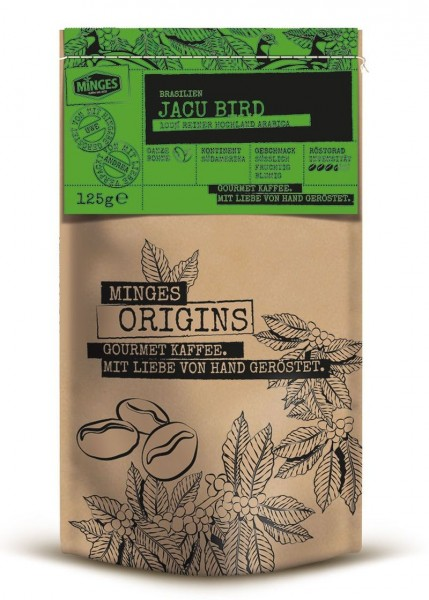 Minges Origins Brasilien Jacu Bird 125 g