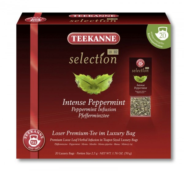 Teekanne Selection Intense Peppermint 20 Kannenportionen