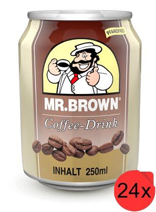 Mr. Brown Classic Coffee-Drink 24 Dosen