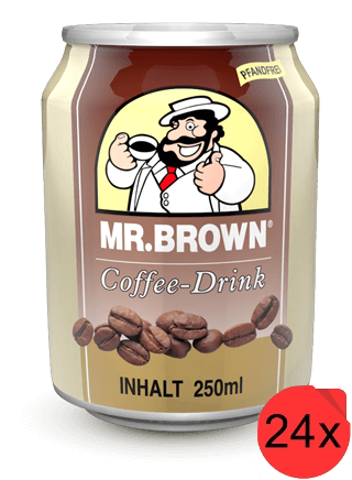Mr. Brown Classic Coffee - Drink 24 Dosen