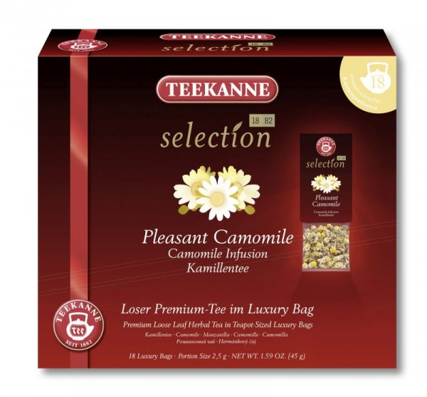 Teekanne Selection Pleasant Camomile 20 Kannenportionen