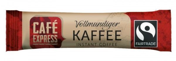 Café Express Fairtrade Kaffeesticks 500 x 1,5 g