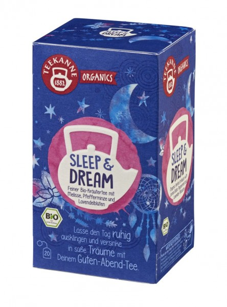 Teekanne ORGANICS Sleep & Dream 20 Beutel