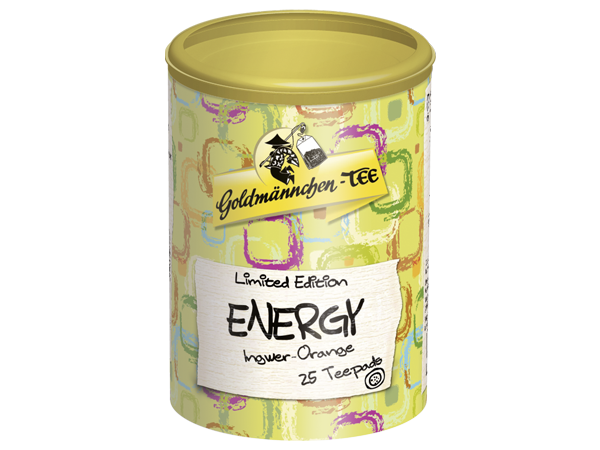 Energy Ingwer Orange 25 Teepads Goldmännchen-TEE