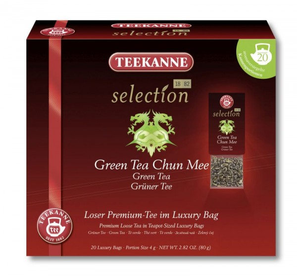 Teekanne Selection Green Tea Chun Mee 20 Kannenportionen