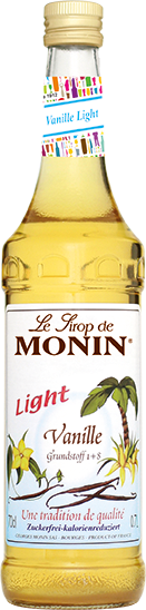 MONIN ® Sirup Vanille Light 0,7 l zuckerfrei