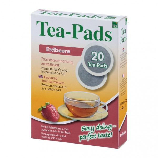 Tea-Friends Teepads Erdbeere