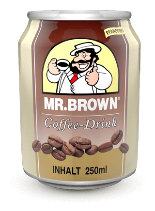 Mr. Brown Classic Coffee - Drink 1 Dose 250 ml